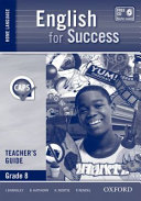 Books - English For Success Home Language Grade 8 Teachers Guide | ISBN 9780195996296