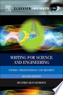 Writing For Science And Engineering Book PDF