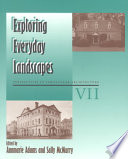 Exploring Everyday Landscapes Book