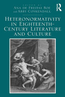 Heteronormativity in Eighteenth-Century Literature and Culture