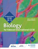 Edexcel International GCSE Biology Student Book Second Edition