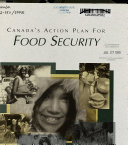 Canada's Action Plan for Food Security
