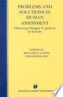 Problems and Solutions in Human Assessment