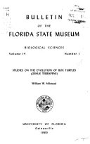 Bulletin of the Florida State Museum