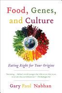 Food, Genes, and Culture [Pdf/ePub] eBook