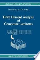 Finite Element Analysis Of Composite Laminates Book PDF
