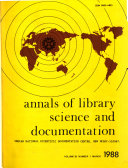Annals of Library Science and Documentation