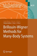 Brillouin Wigner Methods for Many Body Systems