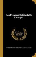 Les Premiers Habitants de l'Europe... ebook