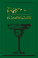 The Cocktail Bible Pdf