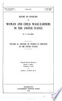 History of Women in Industry in the United States Book