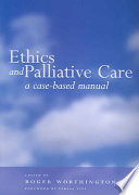 Ethics and Palliative Care