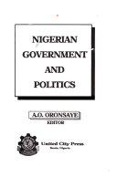 Nigerian Government And Politics