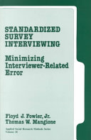 Standardized Survey Interviewing