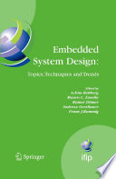 Embedded System Design  Topics  Techniques and Trends