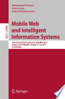 Mobile Web and Intelligent Information Systems