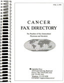 Cancer FAX Directory