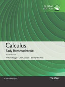 Calculus Early Transcendentals, Global Edition