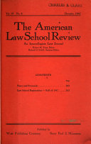 American Law School Review