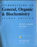 Introduction to General  Organic   Biochemistry