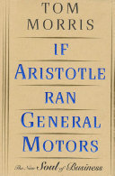 If Aristotle Ran General Motors Pdf/ePub eBook