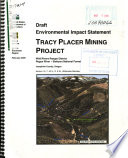 Rogue River Siskiyou National Forest  N F    Tracy Placer Mining Project