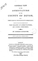 General View of the Agriculture of the County of Devon