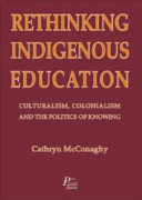 Cover of Rethinking indigenous education