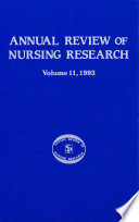 Annual Review Of Nursing Research Volume 11 1993