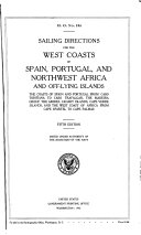 Sailing Directions for the West Coasts of Spain  Portugal  and Northwest Africa and Off lying Islands