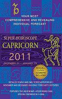 Capricorn (Super Horoscopes 2011)