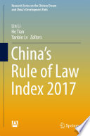 China   s Rule of Law Index 2017