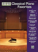 10 for 10 Sheet Music Classical Piano Favorites Book