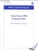 Research Program Plan