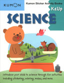 Science K   Up Kumon Sticker Activity Book