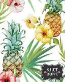 Pineapple and Flower Bullet Journal