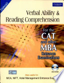 Verbal Ability And Reading Comprehension For The Cat And Other Mba Entrance Examinations With Cd