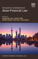 Pdf Research Handbook on Asian Financial Law Telecharger