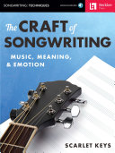 Pdf The Craft of Songwriting Telecharger