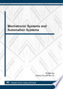 Mechatronic Systems And Automation Systems Book PDF