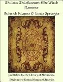 Malleus Maleficarum [Pdf/ePub] eBook