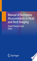 Manual of Normative Measurements in Head and Neck Imaging Book