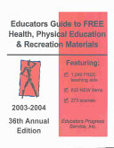 Educators Guide to Free Health  Physical Education   Recreation Materials