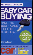 Insider Guide to Easy Car Buying: Spend a Tenner Save a Grand