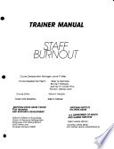 Staff Burnout