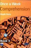 Once A Week Comprehension Bk 3 Book PDF