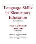 Language skills in elementary education