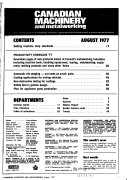 Canadian Machinery and Manufacturing News