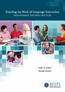 Enacting the Work of Language Instruction