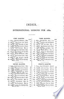 Select Notes on the International Sabbath School Lessons